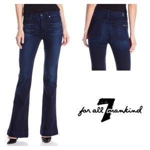 7 For All Mankind High Waist Slim Trouser Jeans